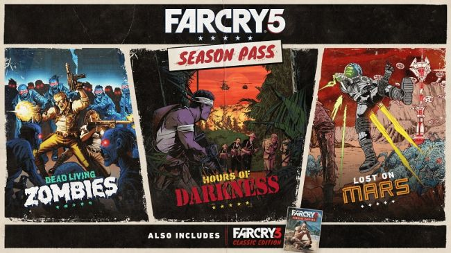Far Cry 5, svelati i contenuti del Season Pass
