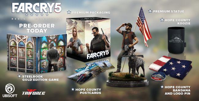 Far Cry 5: ecco tutti i bonus dell'edizione esclusiva di GameStop