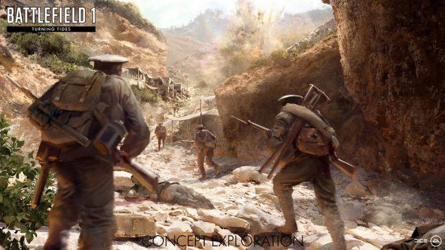 Battlefield 1, svelati i dettagli dell'espansione Turning Tides