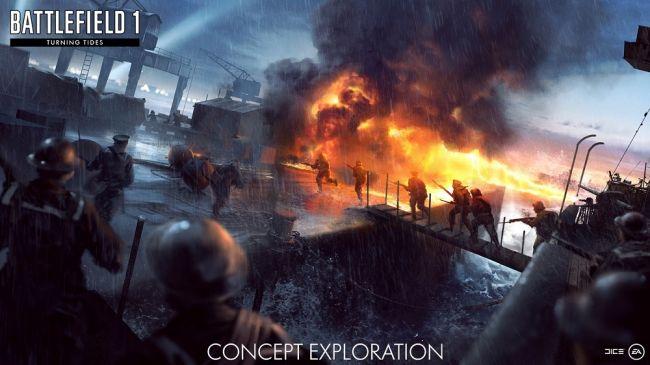 Dettagli su Battlefield 1 Turning Tides, immagini delle nuove mappe