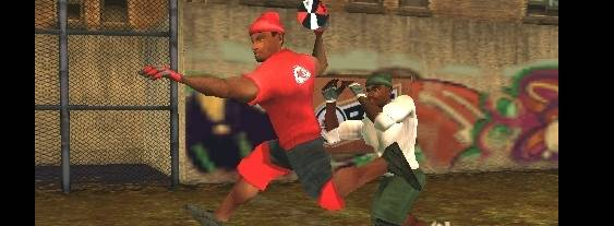 NFL Street 2: Unleashed per PlayStation PSP