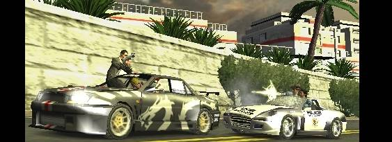 Pursuit Force per PlayStation PSP