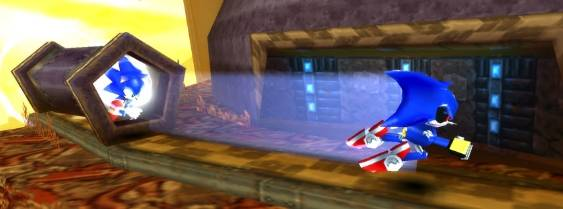 Sonic Rivals per PlayStation PSP