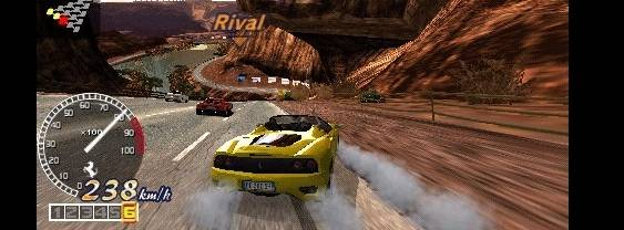 OutRun 2006: Coast 2 Coast per PlayStation PSP