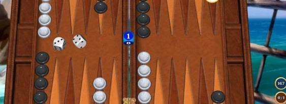 Hardwood Backgammon per Xbox 360