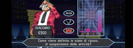 Chi Vuol Essere Milionario Party Edition per PlayStation PSP