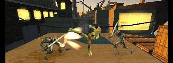 Teenage Mutant Ninja Turtles per PlayStation PSP