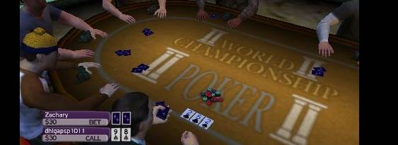 World Championship Poker 2: Featuring Howard Lederer per PlayStation PSP