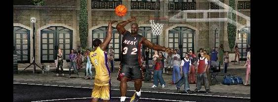 NBA Ballers Rebound per PlayStation PSP