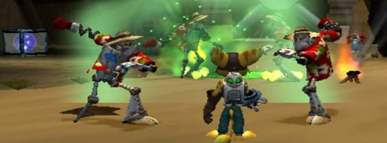 Ratchet & Clank: Size Matters per PlayStation PSP