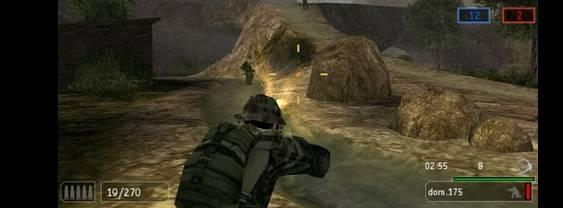 SOCOM U.S. Navy SEALs Fireteam Bravo 2 per PlayStation PSP