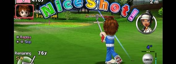 Everybody's Golf per PlayStation PSP