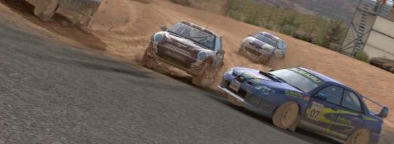 Sega Rally per PlayStation PSP