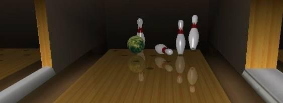 Brunswick Pro Bowling per PlayStation PSP