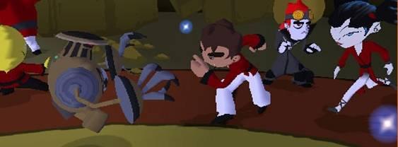Xiaolin Showdown per PlayStation 2