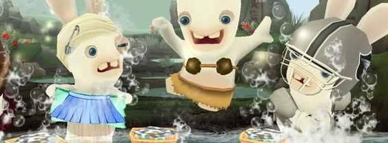 Rayman Raving Rabbids 2 per Nintendo DS