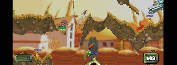 Worms: Open Warfare 2 per Nintendo DS