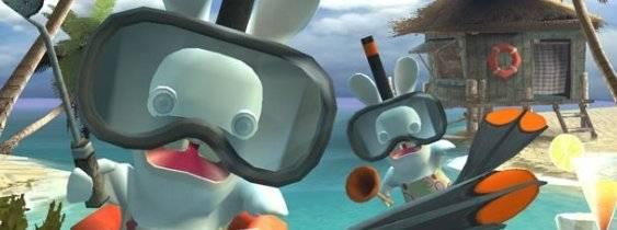 Immagine del gioco Rayman Raving Rabbids per Nintendo DS