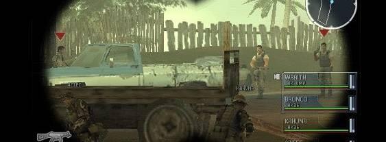 SOCOM U.S. Navy SEALs Tactical Strike per PlayStation PSP