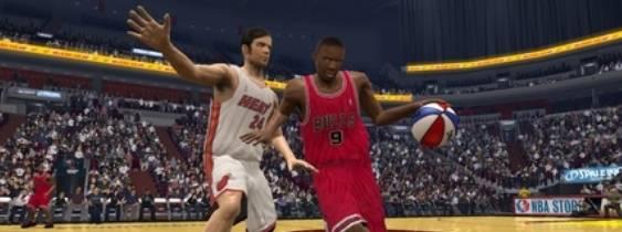 Immagine del gioco NBA 08 per PlayStation 2