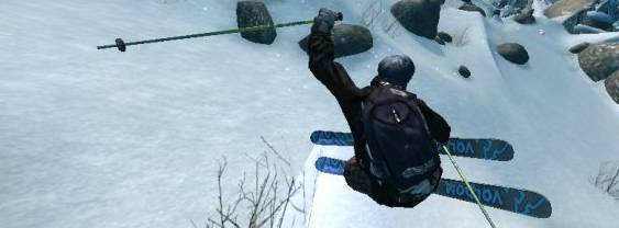 Immagine del gioco Freak Out: Extreme Freeride per PlayStation PSP