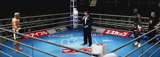 K-1 World Grand Prix per PlayStation 2