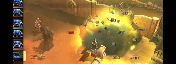 Warhammer 40.000: Squad Command per PlayStation PSP