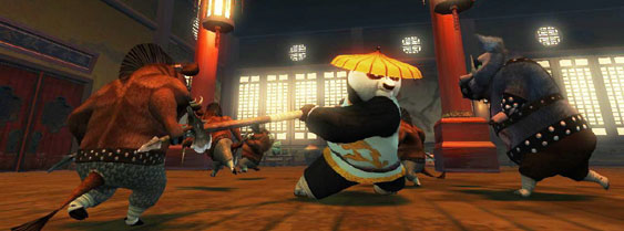 Kung Fu Panda per PlayStation 2