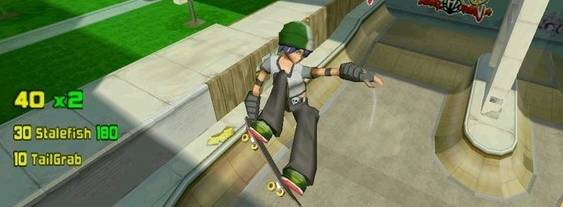 Skate Park City per PlayStation PSP