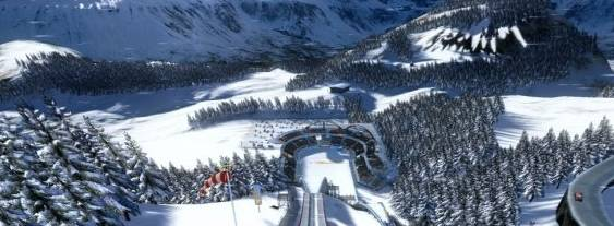 Immagine del gioco Winter Sports 2009: The Next Challenge per Xbox 360