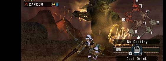 Immagine del gioco Monster Hunter Freedom Unite per PlayStation PSP