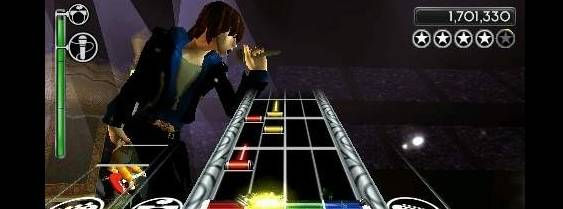 Rock Band Unplugged per PlayStation PSP