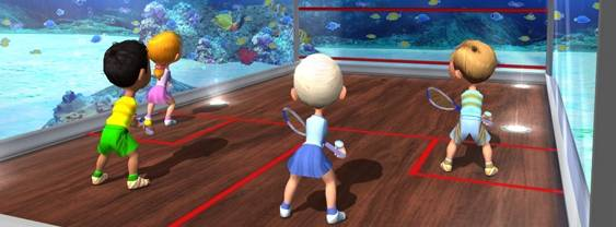 Immagine del gioco Racket Sports Party per Nintendo Wii