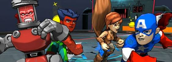 Marvel Super Hero Squad: Comic Combat - uDraw per Xbox 360