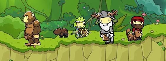Immagine del gioco Scribblenauts Unlimited per Nintendo Wii U