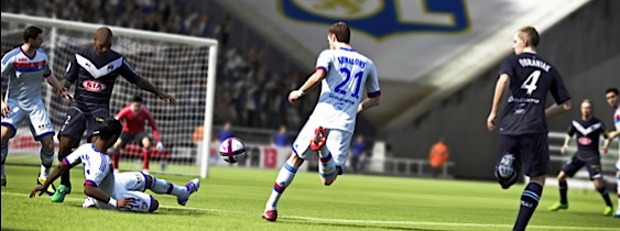 Immagine del gioco FIFA 13 per PSVITA