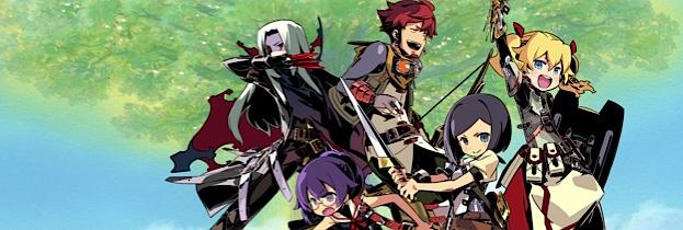 Etrian Odyssey IV: Legends of the Titan per Nintendo 3DS