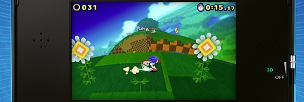 Sonic Lost World per Nintendo 3DS