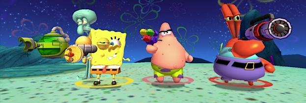 SpongeBob SquarePants: La Vendetta Robotica di Plankton per Nintendo Wii