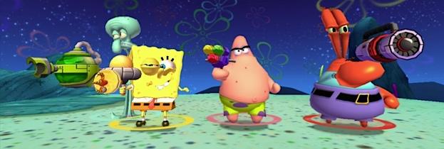 Immagine del gioco SpongeBob SquarePants: La Vendetta Robotica di Plankton per Nintendo Wii U