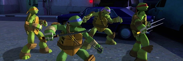 Nickelodeon: Teenage Mutant Ninja Turtles per Xbox 360