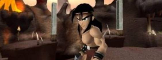Kaan Barbarian 's Blade per PlayStation 2