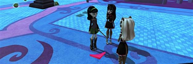 Immagine del gioco Monster High: Una nuova Mostramica a Scuola per Nintendo Wii