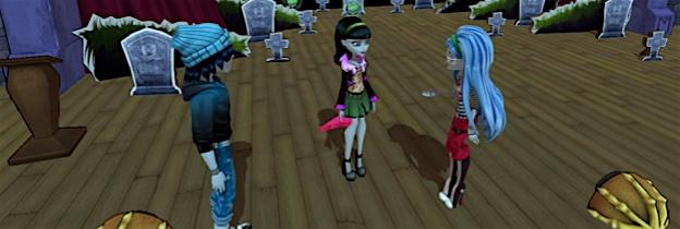 Immagine del gioco Monster High: Una nuova Mostramica a Scuola per Nintendo Wii U