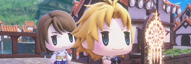 Immagine del gioco World of Final Fantasy per PSVITA