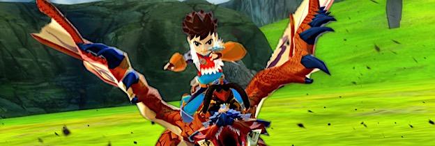 Monster Hunter Stories per Nintendo 3DS