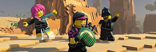 Immagine del gioco LEGO Worlds per Playstation 4