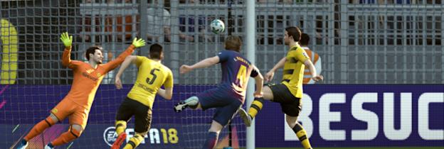 Immagine del gioco FIFA 18 per Xbox 360