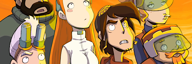 Chaos on Deponia per PlayStation 4