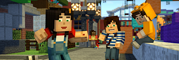 Minecraft: Story Mode per Xbox One